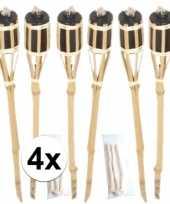 24x tuinfakkel inclusief lont